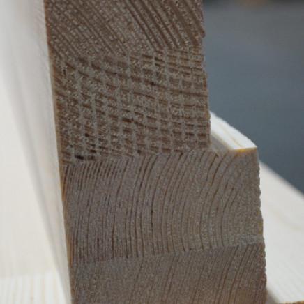 Kantówka okienna w kształcie litery L