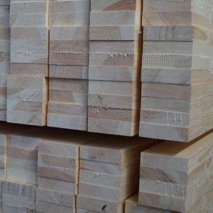 Produkty z drewna klejonego - Kantówki okienne i drzwiowe